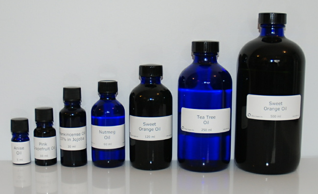 Essential Oils: 5ml, 10ml, 30ml, 60ml, 120ml, 