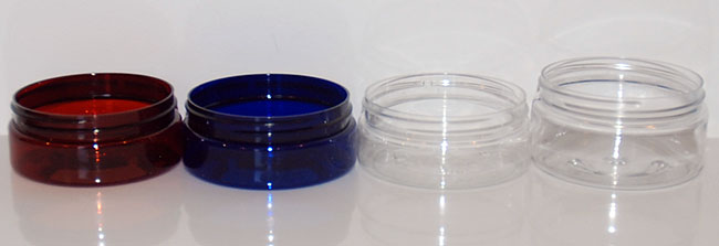 low profile PET jars